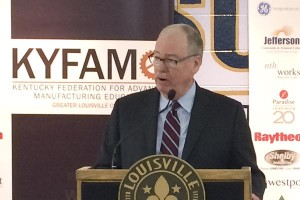 """The 21st century technical employees must process a sophisticated level of skills,"" Tony Newberry, president of Jefferson Community and Technical College, said at a kickoff event for the KY FAME program."
